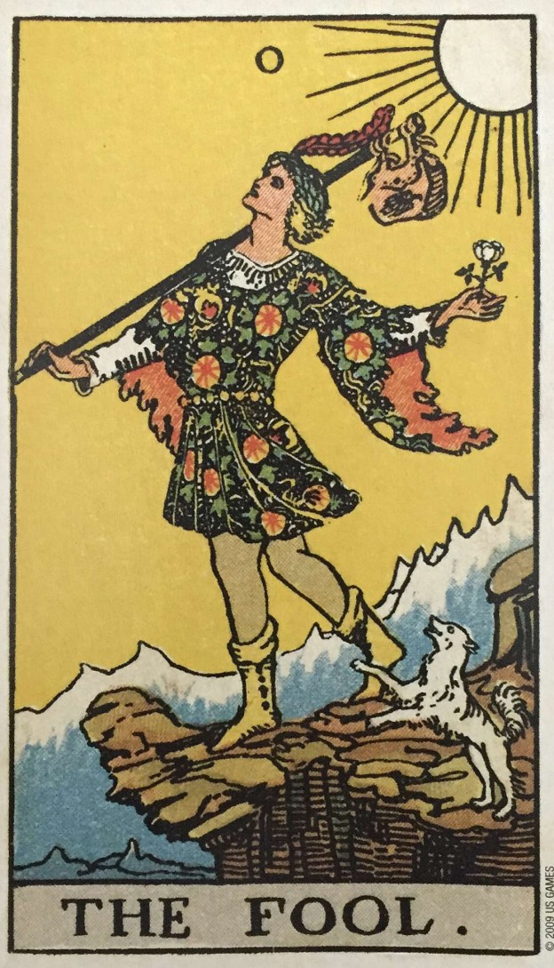 The Fool Tarot Rider Waite